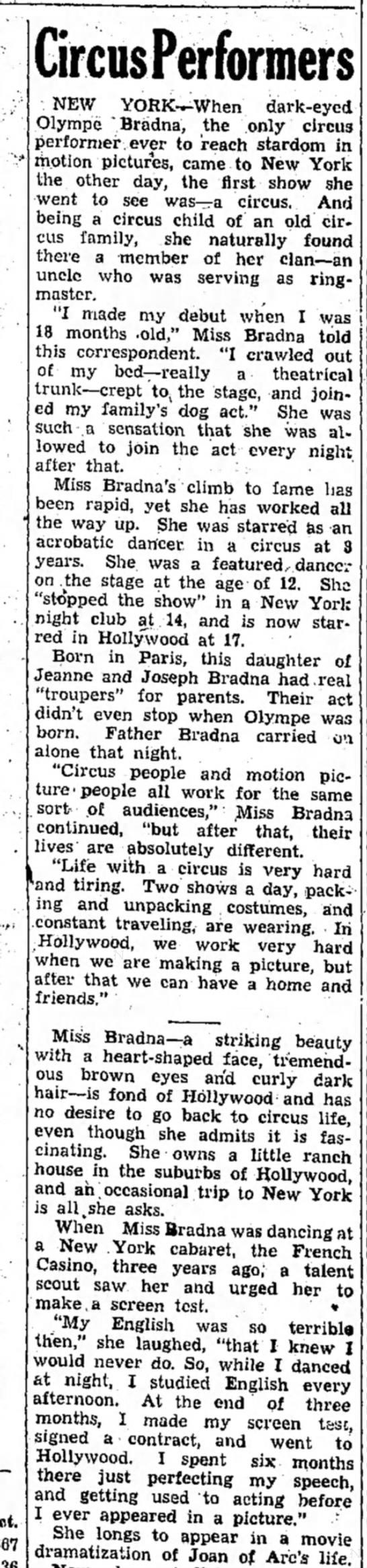 BRADNAI May 1938