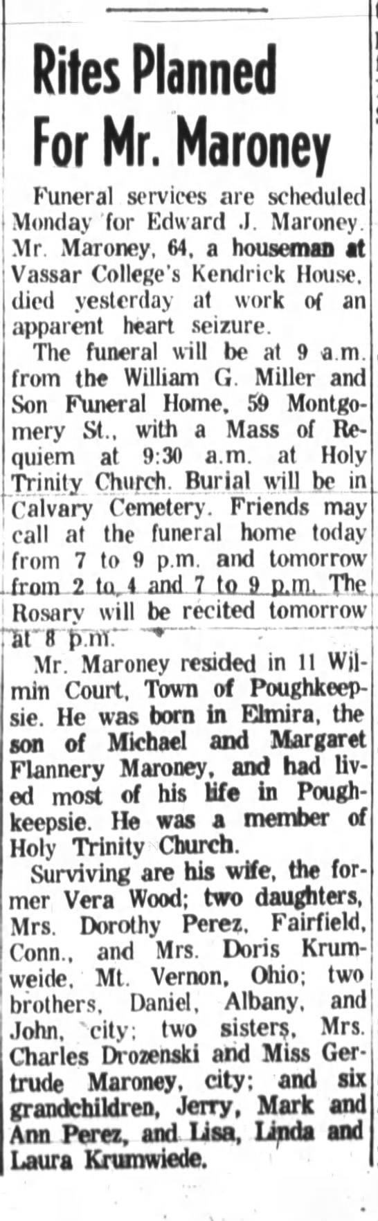 Edward J. Maroney