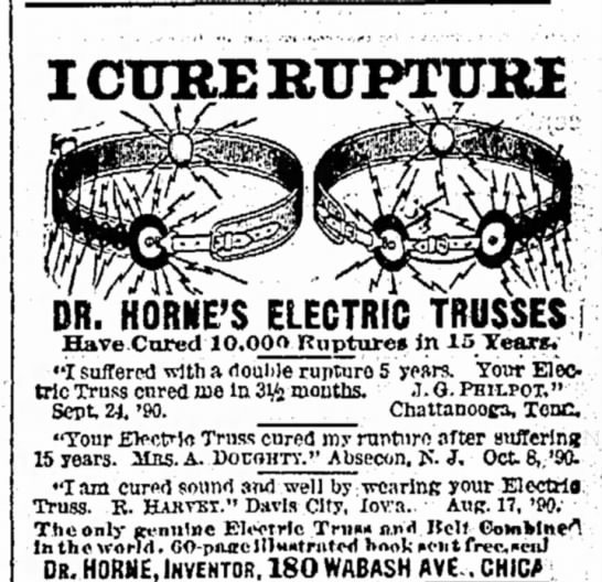 Electric Collar for rupture-1891