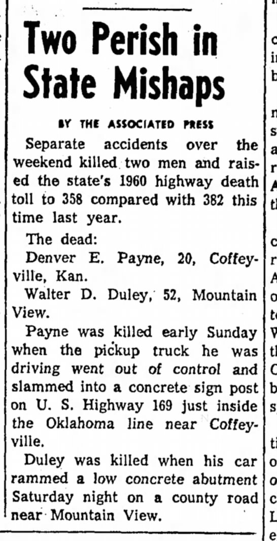 Walter Duley Death