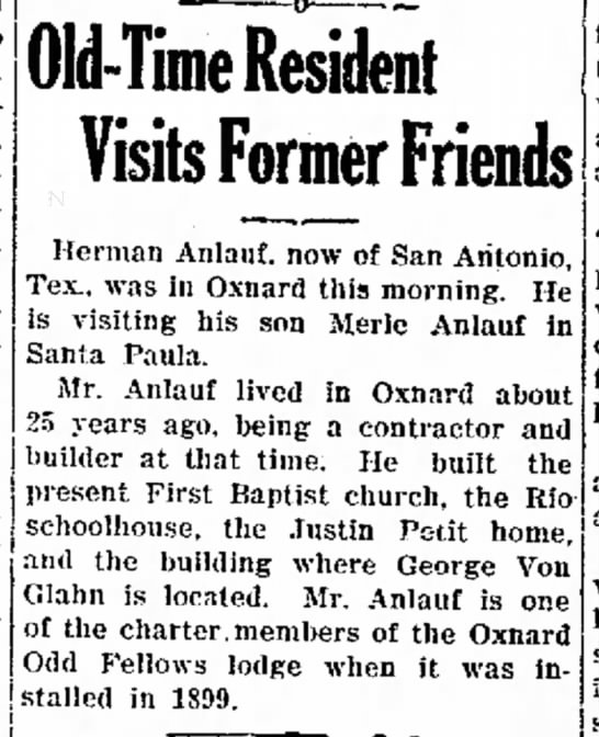 Herman on visit to SP