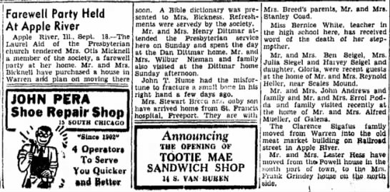 18 September 1944 - Freeport Journal-Standard, Freeport, IL - page 6.