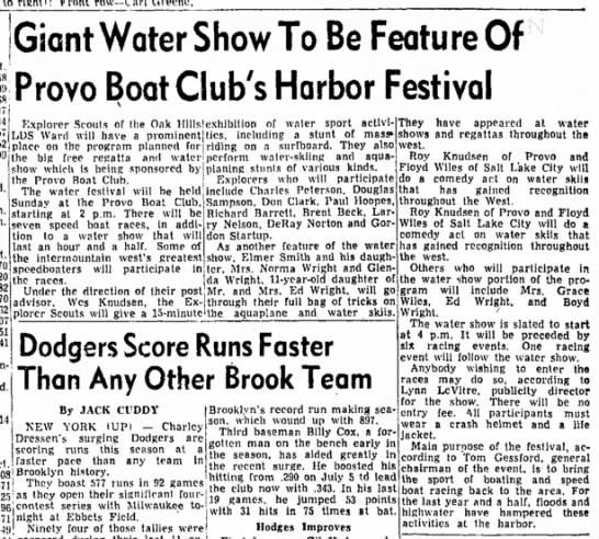 The Daily Herald (Provo, Utah) July 24 1953 page 5