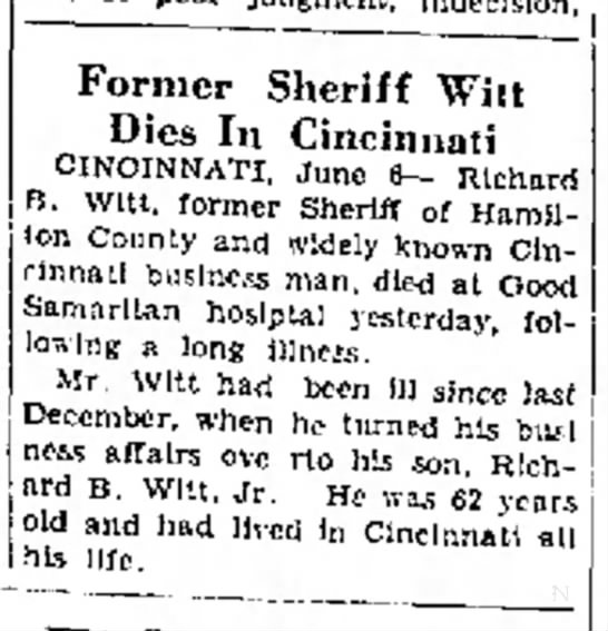 The Journal News (Hamilton, Ohio), 6 June 1930, p. 1, col. 7
