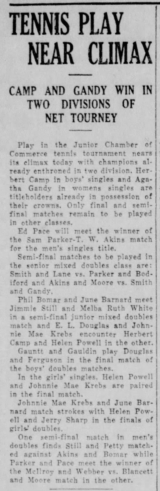 The Vernon Daily Record, TX, 14 Jun 1937 p4 c1