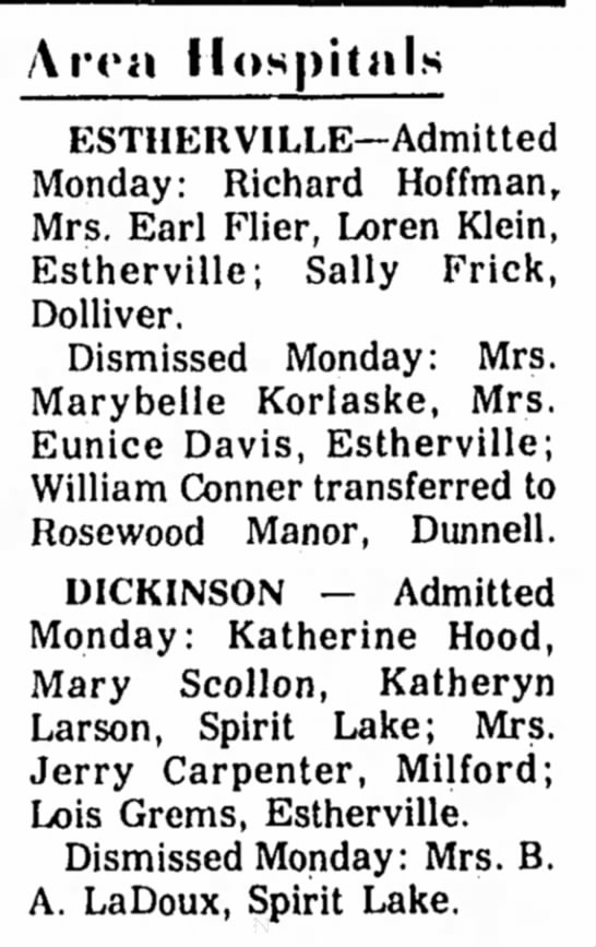 Estherville Daily News