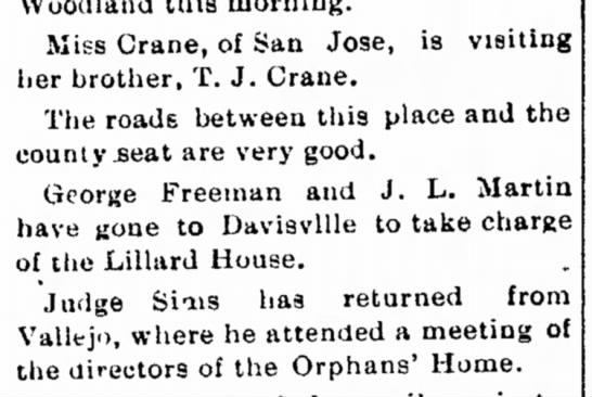 J.L. Martin and George Freeman take charge of Lillard House