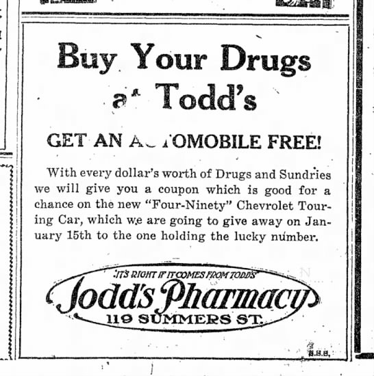 Todd has what you need...
