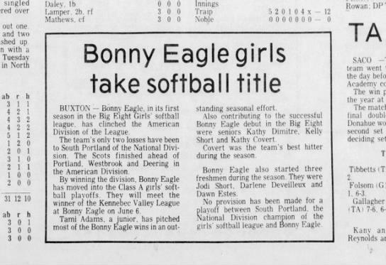 Journal Tribune  May 28, 1977