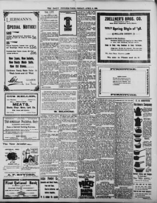The Daily Deadwood Pioneer-Times from Deadwood, South Dakota on April 8, 1898 · Page 4