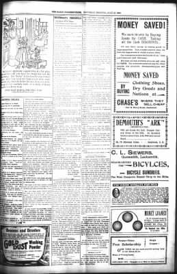 The Daily Deadwood Pioneer-Times from Deadwood, South Dakota on July 22, 1899 · Page 5