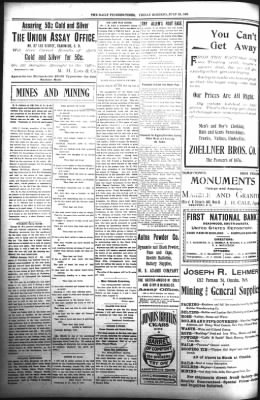 The Daily Deadwood Pioneer-Times from Deadwood, South Dakota on July 28, 1899 · Page 4