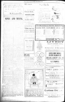 The Daily Deadwood Pioneer-Times from Deadwood, South Dakota on July 24, 1900 · Page 2