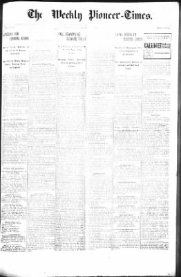 The Weekly Pioneer-Times from Deadwood, South Dakota on June 29, 1900 · Page 1