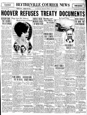 The Courier News from Blytheville, Arkansas on July 11, 1930 · Page 1