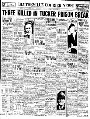 The Courier News from Blytheville, Arkansas on January 18, 1934 · Page 1