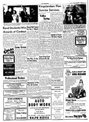 The Llano News from Llano, Texas on March 23, 1967 · Page 4