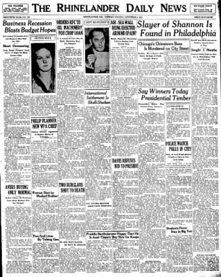 Image result for november 2, 1937 news