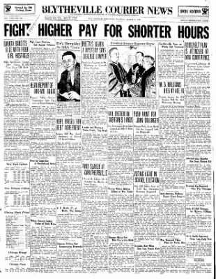 The Courier News from Blytheville, Arkansas on March 6, 1934 · Page 1