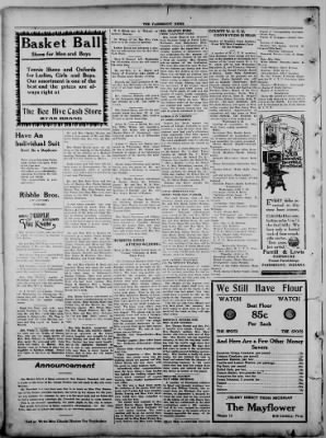 The Fairmount News from Fairmount, Indiana on September 15, 1921 · Page 8