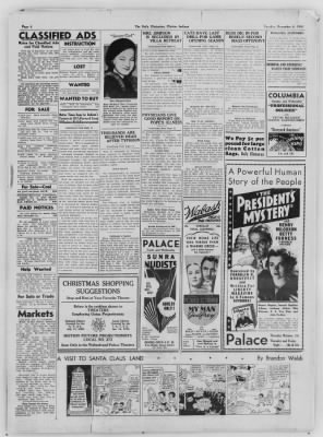 The Daily Clintonian from Clinton, Indiana on December 8, 1936 · Page 6