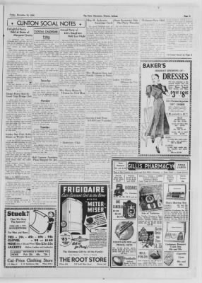 The Daily Clintonian from Clinton, Indiana on December 18, 1936 · Page 5