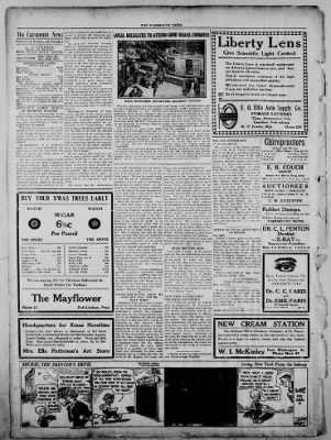 The Fairmount News from Fairmount, Indiana on December 12, 1921 · Page 2