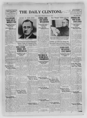 The Daily Clintonian from Clinton, Indiana on January 20, 1937 · Page 1