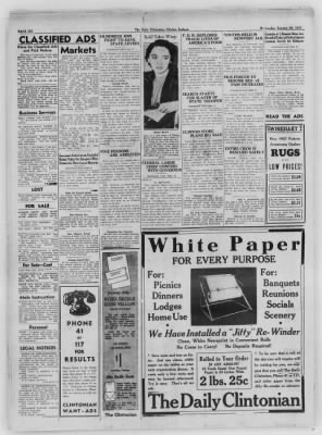 The Daily Clintonian from Clinton, Indiana on January 20, 1937 · Page 6