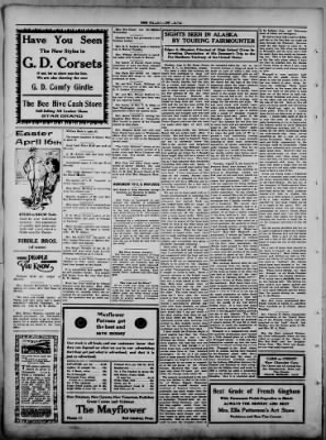 The Fairmount News from Fairmount, Indiana on March 23, 1922 · Page 4
