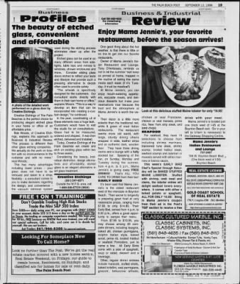 The Palm Beach Post from West Palm Beach, Florida on September 13, 1999 · Page 72