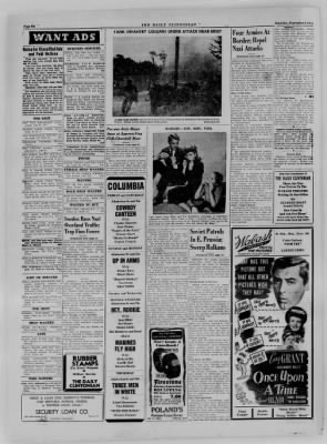 The Daily Clintonian from Clinton, Indiana on September 9, 1944 · Page 6