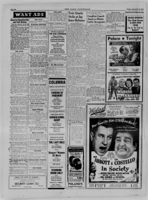 The Daily Clintonian from Clinton, Indiana on September 15, 1944 · Page 6