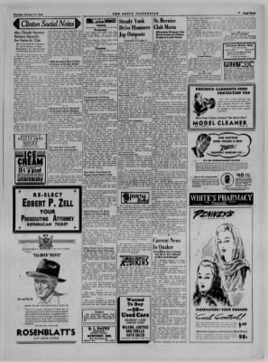 The Daily Clintonian from Clinton, Indiana on October 24, 1944 · Page 3