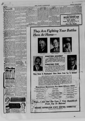 The Daily Clintonian from Clinton, Indiana on October 25, 1944 · Page 4
