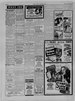 The Daily Clintonian from Clinton, Indiana on October 26, 1944 · Page 6