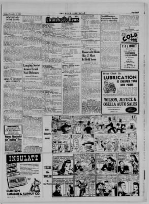 The Daily Clintonian from Clinton, Indiana on November 10, 1944 · Page 3
