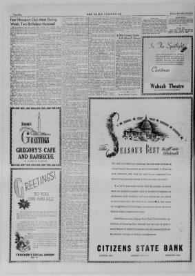 The Daily Clintonian from Clinton, Indiana on December 22, 1944 · Page 16