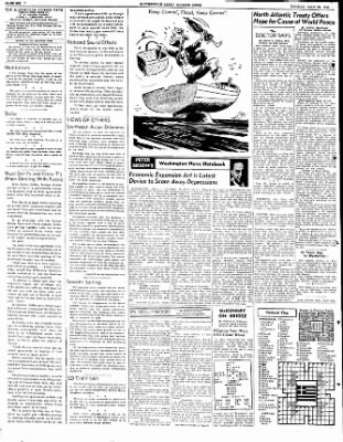 The Courier News from Blytheville, Arkansas on July 25, 1949 · Page 6