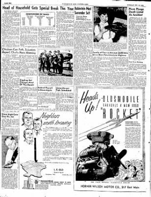 The Courier News from Blytheville, Arkansas on December 30, 1952 · Page 2