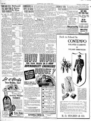 The Courier News from Blytheville, Arkansas on August 24, 1939 · Page 6
