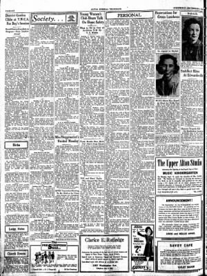 Alton Evening Telegraph from Alton, Illinois on September 3, 1941 · Page 6