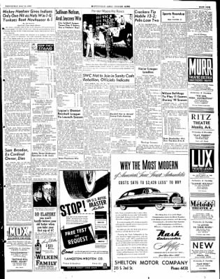The Courier News from Blytheville, Arkansas on May 11, 1949 · Page 9