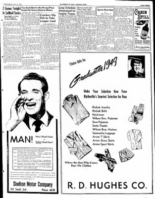 The Courier News from Blytheville, Arkansas on May 12, 1949 · Page 7
