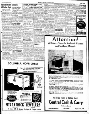 The Courier News from Blytheville, Arkansas on May 23, 1949 · Page 5
