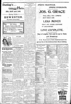 Logansport Pharos-Tribune from Logansport, Indiana on June 11, 1896 · Page 5