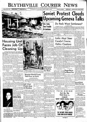 The Courier News from Blytheville, Arkansas on April 6, 1959 · Page 1
