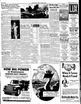 The Courier News from Blytheville, Arkansas on June 21, 1949 · Page 8