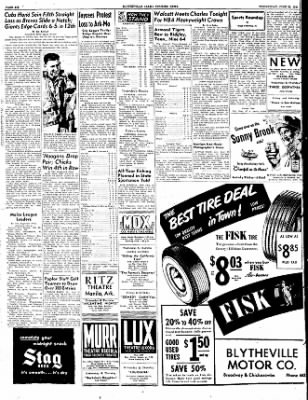 The Courier News from Blytheville, Arkansas on June 22, 1949 · Page 6