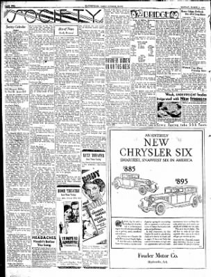 The Courier News from Blytheville, Arkansas on March 9, 1931 · Page 2